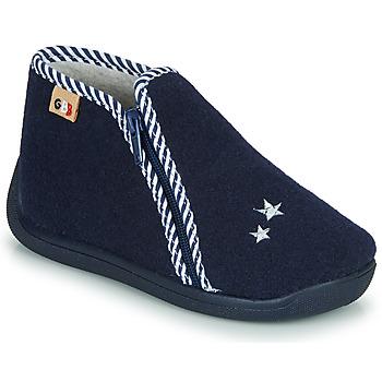 Schuhe Kinder Hausschuhe GBB KITRA Blau