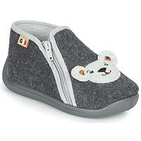 Schuhe Jungen Hausschuhe GBB KITRA Grau