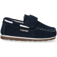 Schuhe Jungen Slipper Bubble 48474 blau