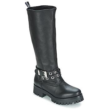 Schuhe Damen Klassische Stiefel Love Moschino GROGI Schwarz