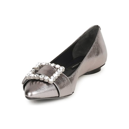 Marc Jacobs MJ19417 Damen Silbern  Schuhe Ballerinas Damen MJ19417 396 7aa5c5