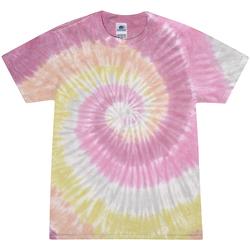 Kleidung Damen T-Shirts Colortone Rainbow Rot