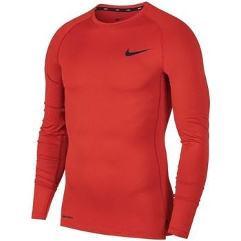 Kleidung Herren Langarmshirts Nike Pro Longsleeve Top M Rot