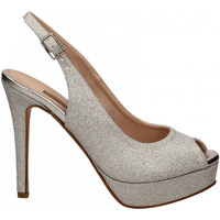Schuhe Damen Sandalen / Sandaletten Albano MESH argento