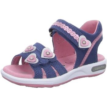 Schuhe Mädchen Sportliche Sandalen Superfit Schuhe SANDALEN KINDER  LK \ EMILY blau