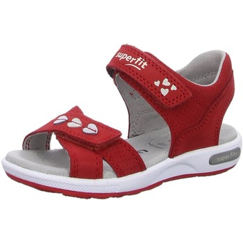 Schuhe Mädchen Sportliche Sandalen Superfit Schuhe SANDALEN KINDER  LK \ EMILY 06132-50 rot