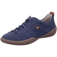 Schuhe Damen Sneaker Low Camel Active Schnuerschuhe Inspiration 894.70.06 blau
