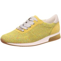 Schuhe Damen Sneaker Low Ara Schnuerschuhe Fusion 4 12-24069-10 gelb