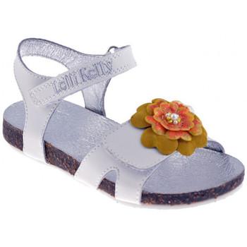 Schuhe Mädchen Sandalen / Sandaletten Lelli Kelly 7516sandale Weiss