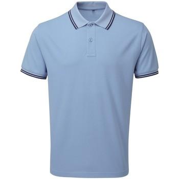Kleidung Herren Polohemden Asquith & Fox AQ011 Kornblume/Navy