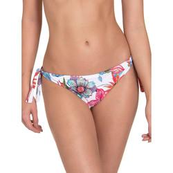 Kleidung Damen Bikini Ober- und Unterteile Lisca Jamaika  Geknüpfte Badeanzug-Strümpfe Weiß