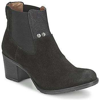 Schuhe Damen Low Boots G-Star Raw DEBUT ANKLE GORE Schwarz