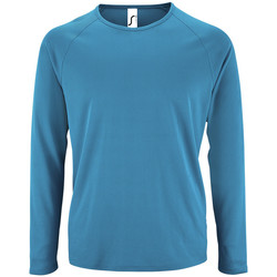 Kleidung Herren Langarmshirts Sols SPORT LSL MEN Azul
