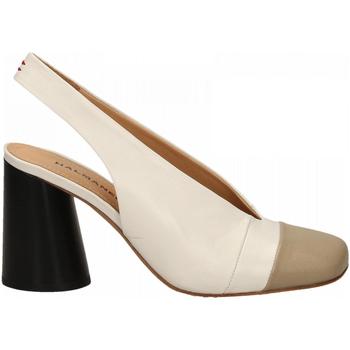 Schuhe Damen Pumps Halmanera ORIETT BABY KID stone