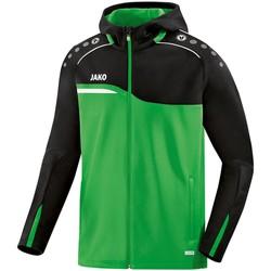 Kleidung Damen Sweatshirts Jako Sport Kapuzenjacke 6818-22D grün