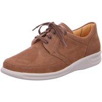 Schuhe Herren Sneaker Low Ganter Schnuerschuhe Kurt 92567022400 braun