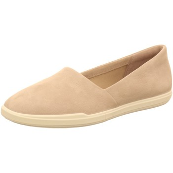Schuhe Damen Slip on Ecco Slipper 208603/02386 grau