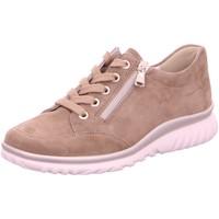 Schuhe Damen Sneaker Low Semler Schnuerschuhe Lena L5035-042-028 beige