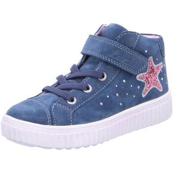 Schuhe Mädchen Sneaker High Lurchi Klettschuhe 33-37007-22 blau