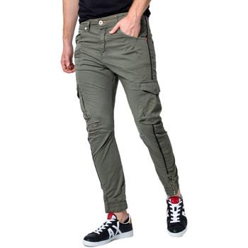 Kleidung Herren Cargo Hosen Displaj EVOLUTION MOLLA Verde
