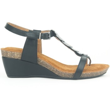 Schuhe Damen Sandalen / Sandaletten Chattawak Petit Talon 9-MILA Noir Schwarz