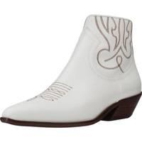 Schuhe Damen Low Boots Alpe 4585 05 Weiß