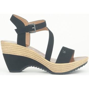 Schuhe Damen Sandalen / Sandaletten Chattawak Compensée 9-MAELLE Noir Schwarz