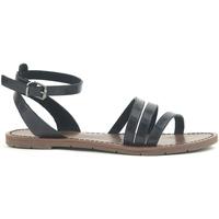 Schuhe Damen Sandalen / Sandaletten Chattawak Sandale  9-PAGO Noir Schwarz