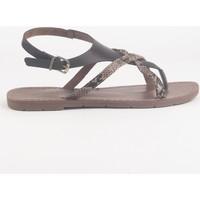 Schuhe Damen Sandalen / Sandaletten Chattawak Sandale  9-PATOU  CHOCO Braun