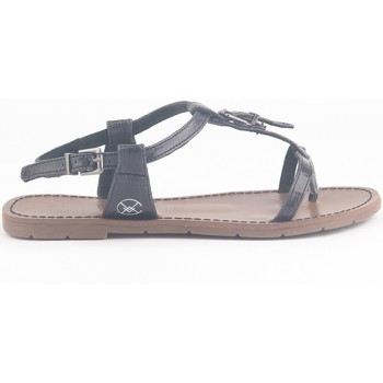 Schuhe Damen Sandalen / Sandaletten Chattawak Sandale 9-ZHOE Noir Schwarz