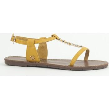 Schuhe Damen Sandalen / Sandaletten Chattawak Sandale 9-PETUNIA Jaune Gelb