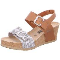 Schuhe Damen Sandalen / Sandaletten Mephisto Sandaletten LISSANDRA SANDANYL 2831 LISSANDRA CAMEL braun