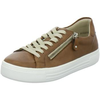 Schuhe Damen Sneaker Low Remonte Dorndorf Schnuerschuhe D0903-24 braun