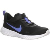 Schuhe Jungen Sneaker Low Nike Low Revolution 5 Glitter CD6839-041 schwarz
