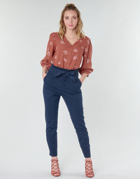 Kleidung Damen 5-Pocket-Hosen Vero Moda VMEVA Marine