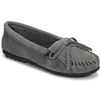 Schuhe Damen Slipper Minnetonka KILTY Grau
