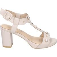 Schuhe Damen Sandalen / Sandaletten Brigitte sandalen kunstleder beige
