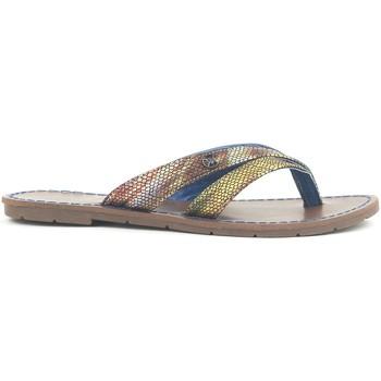 Schuhe Damen Sandalen / Sandaletten Chattawak Tong 9-KALINDA Bleu Blau