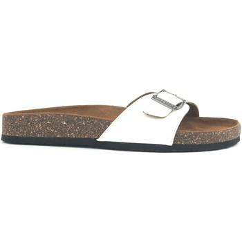 Schuhe Damen Pantoffel Chattawak Mule  9-OPALINE Blanc Vernis Weiss