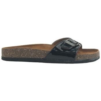 Schuhe Damen Pantoffel Chattawak Mule  9-OPALINE Noir Vernis Schwarz