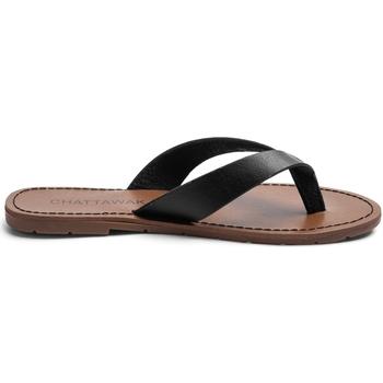 Schuhe Damen Zehensandalen Chattawak Sandale  9-TANGO Noir Schwarz