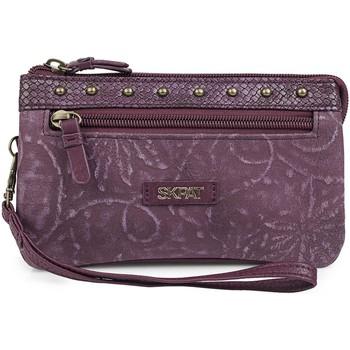 Taschen Damen Geldtasche / Handtasche Skpat Kates Granat