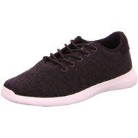 Schuhe Herren Sneaker Low Giesswein Schnuerschuhe Merino 49310-029 grau