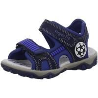 Schuhe Jungen Sportliche Sandalen Superfit Schuhe 0-609465-8000 8000 blau