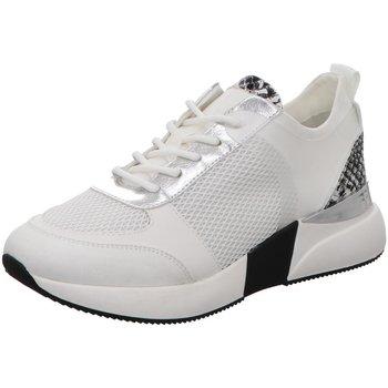 Schuhe Damen Sneaker Low La Strada Schnuerschuhe Sneaker mit Plateausohle 1901090-2204 weiß