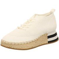 Schuhe Damen Sneaker High La Strada Schnuerschuhe 1902367-4504 weiß