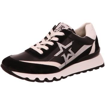 Schuhe Damen Sneaker Low Paul Green Schnuerschuhe 4954 4954-016 schwarz