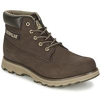 Schuhe Herren Boots Caterpillar FOUNDER Espresso