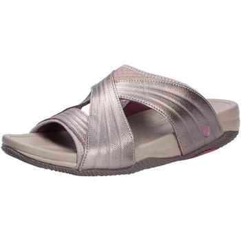 Schuhe Damen Pantoffel Joya Damen Pantolette braun