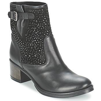 Schuhe Damen Low Boots Meline NERCRO Schwarz
